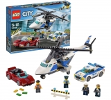 LEGO City Police High Speed Chase Car Helicopter Toy 60138 – £12.99 @ Argos