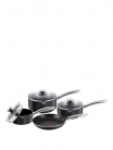 Tefal Easy Strain 4 Piece Pan Set – Black £44.99 at Very