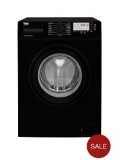 Beko WTG741M1B 7kg Load, 1400 Spin Washing Machine – Black £269.99 @ Littlewoods