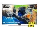 Samsung UE55MU6220KXXU 55 inch, 4K Ultra HD Certified, HDR, Smart, Curved TV £455.20 w/ Code at Very