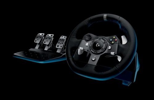 Logitech G920 Plug Driving Force Racing Wheel For Xbox One And Pc