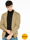 River Island Lightweight Cable Men's Cardigan £18.75 at Very