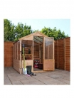 MERCIA 8 x 6 ft Shiplap Greenhouse £512.99 at Very