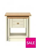 Alderley Ready Assembled Nest Of Tables – Cream/Oak Effect £99 @ Very