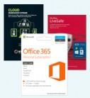 Microsoft Office 365 Personal, 2TB Cloud Storage & McAfee LiveSafe Unlimited 2016 Bundle £79
