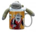Monkey Mug and Plush Set: Ceramic Mug, 1 x Monkey Plush, 1 x Fruit Shrewsbury Biscuits (2 pack) £2.74 at Argos