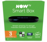 Get NOW TV Smart Box with 3 Month Entertainment Pass for £10 (Normally £49.99) When You Buy Any TV at Argos