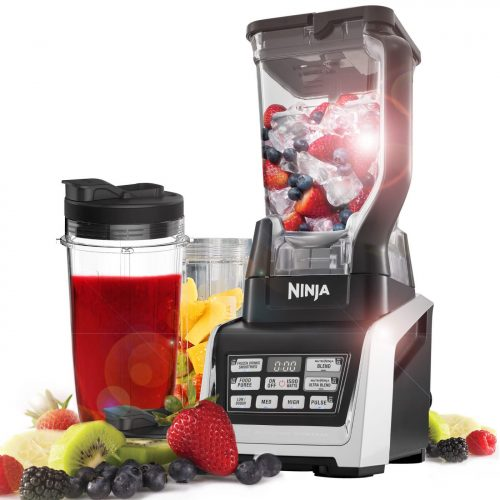 Ninja Blender Duo With Auto Iq 1500w Bl642uk Reduced To