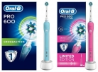 Oral B Pro 600 Pink or Blue Special Edition Electric Toothbrush Now £24.98 at Superdrug