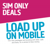 1.5GB Data, Unlimited Mins & Texts £6.50/mth 30-Day Contract SIM Only Deal Plusnet Mobile