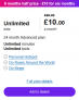 Unlimited Data, Mins & Texts 5G Ready SIM Only £10 for Six Months @ Three