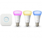Philips Hue LED Colour Ambiance Wireless B22 or E27 Starter Kit £131.99 (was £149.99) at Argos