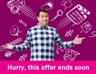 Unlimited 38Mb Fibre Broadband + Line Rental £24.99 for 12 Months with £15 Activation Fee Plusnet