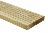 Wickes Value Deck Board – Natural Colour – Pressure Treated – 25 x 120mm x 1.8m with 10 Years Guaranteed Now £2.50 at Wickes