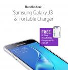 Samsung Galaxy J3 + Free Pebble Verto Portable 3700mAh Charger (worth £14.98) – £129.99 at BT Shop