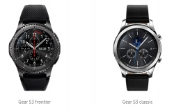 Samsung Gear S3 Classic or Frontier Editions Only £234 with Code at Samsung