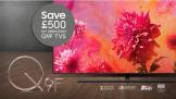 £500 OFF Samsung 2018 Q9 55″ or 65″ TV – The 55″ Q9 TV Now Only £2,499 and Q9 65″ TV Only £3,299 at Samsung