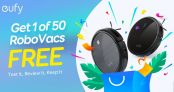 Free Eufy Robot Vacuum to be Won @ Eufy