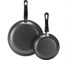 Simple Value 2 Piece Carbon Steel Frying Pan Set Now £1.79 at Argos