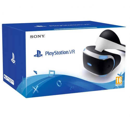 Sony PlayStation VR Headset with Free VR Worlds, Farpoint and PS4