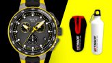 Buy Tissot Tour De France Limited Edition 2019 Watch and Receive Free Tissot Sports Water Bottle @ Goldsmiths