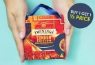 Buy 1 Get 1 Half Price Tea Gifts with Code at Twinings Teashop