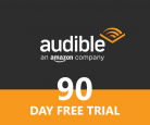 Try Audible Free for 90-days (Prime Members Offer)