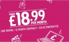 Plusnet Unlimited 17Mbps Broadband + Line Only + £10 Activation Fee £17.32/mth