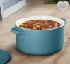 Swan Medium Round Casserole Dish – Blue £24.99 @ Swan