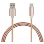 Stainless Steel Spring QC USB 3.1 Charging Cable – Rose Gold £1.70 @ GearBest