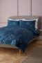 Nerine Duvet Cover Set, Carbon Blue £45.00 @ John Lewis & Partners