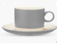 Croft Collection Cup and Saucer, 220ml, French Grey £5.60 @ John Lewis & Partners