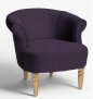 Regal Armchair, Light Leg, Erin Damson £399 @ John Lewis & Partners