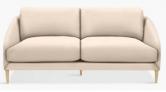 Cape Large 3 Seater Sofa, Light Leg, Edie Dusky Pink £1,079 @ John Lewis & Partners