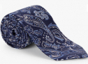 Large Paisley Silk Tie, Navy £14.50 @ John Lewis & Partners