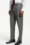 Wool Check Regular Fit Suit Trousers, Grey £50.00 @ John Lewis & Partners