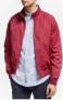 Shower Resistant Wallace Harrington Jacket, Red £62.30 @ John Lewis & Partners
