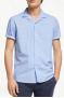 Linear Dot Print Regular Fit Short Sleeve Shirt, Blue £31.50 @ John Lewis & Partners
