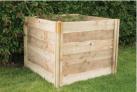 Forest Garden 3 X 3 Ft Slot Down Wooden Compost Bin £98 @ Wickes