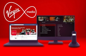 Virgin Media 100Mb Fibre Broadband + Line Rental + Weekend Calls & TV Box £23.83/mth for 12 Months with Code & After Paying Line Rental at Virgin Media