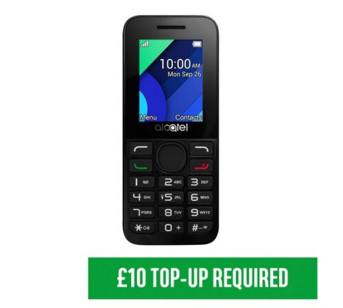 Vodafone Alcatel 10.54 Mobile Phone ONLY £4.99 at Argos – Kashy.co ...