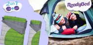Win 2x Single or 1x Double Camping ReadyBeds @ Argos