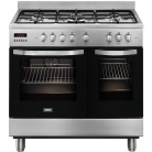 Zanussi ZCK98307XA 90cm Dual Fuel Range Cooker in Stainless Steel £929 with Code at Co-op Electricals