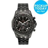 Accurist Men's IP Stainless Steel Bracelet Watch Black £49.99 from Argo on eBay