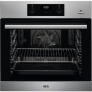 AEG BES355010M Built In Electric Single Oven with added Steam Function – Stainless Steel – A Rated £279 @ AO