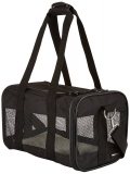 AmazonBasics Black Soft-Sided Pet Carrier – Small  £8.06 at Amazon Warehouse Deals