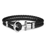 Anchor Bracelet PHREP Stainless Steel Black £49.95 @ Paul Hewitt