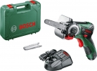 Bosch Cordless Saw EasyCut 12 (NanoBlade technology, battery, charger, saw blade, case, 12 V system, 2.5 Ah) £99.99 at Amazon