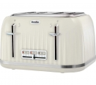 Breville VTT702 Impressions 4 Slice Toaster – Cream or Purple £28.99 at Amazon