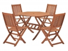 Cotswold FSC Eucalyptus Wood Outdoor 4 Seater Dining Set, with Octangonal Table (5 Pieces) £149.99 at Amazon